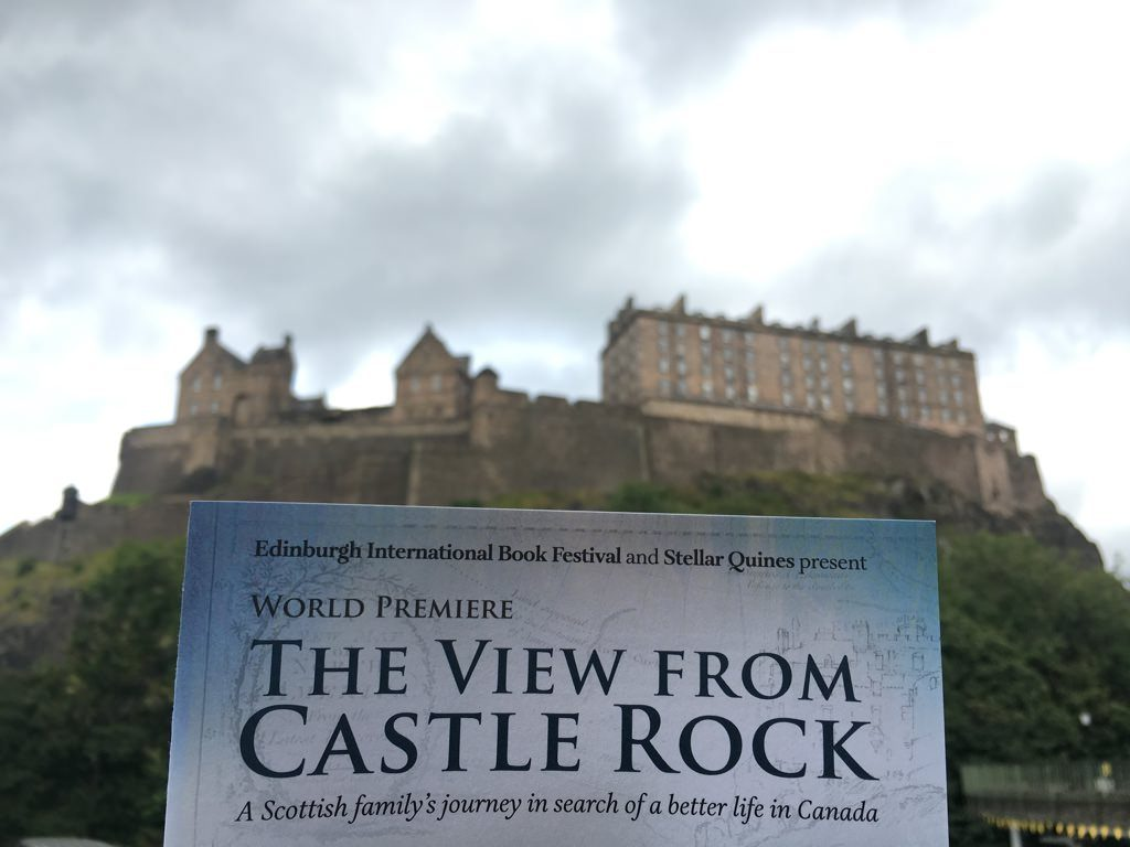 Edinburgh International Book Festival Castle Rock