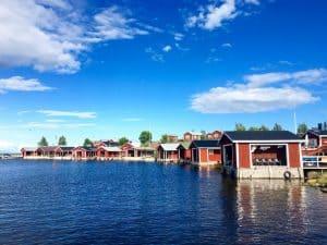 Lulea Sweden in summer