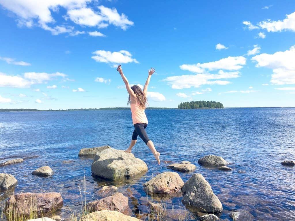 Summer Lulea Swedish Lapland