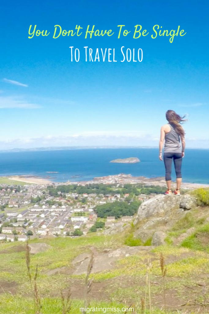 You Don't Have To Be Single to Travel Solo