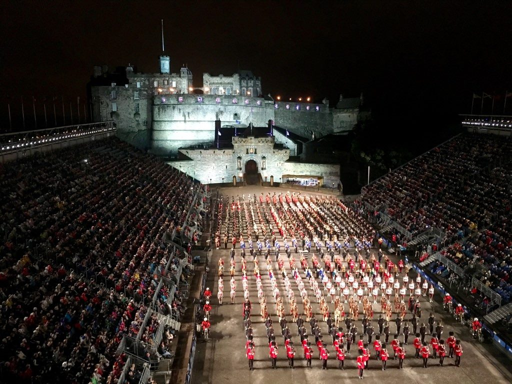 Edinburgh Tattoo August Festivals