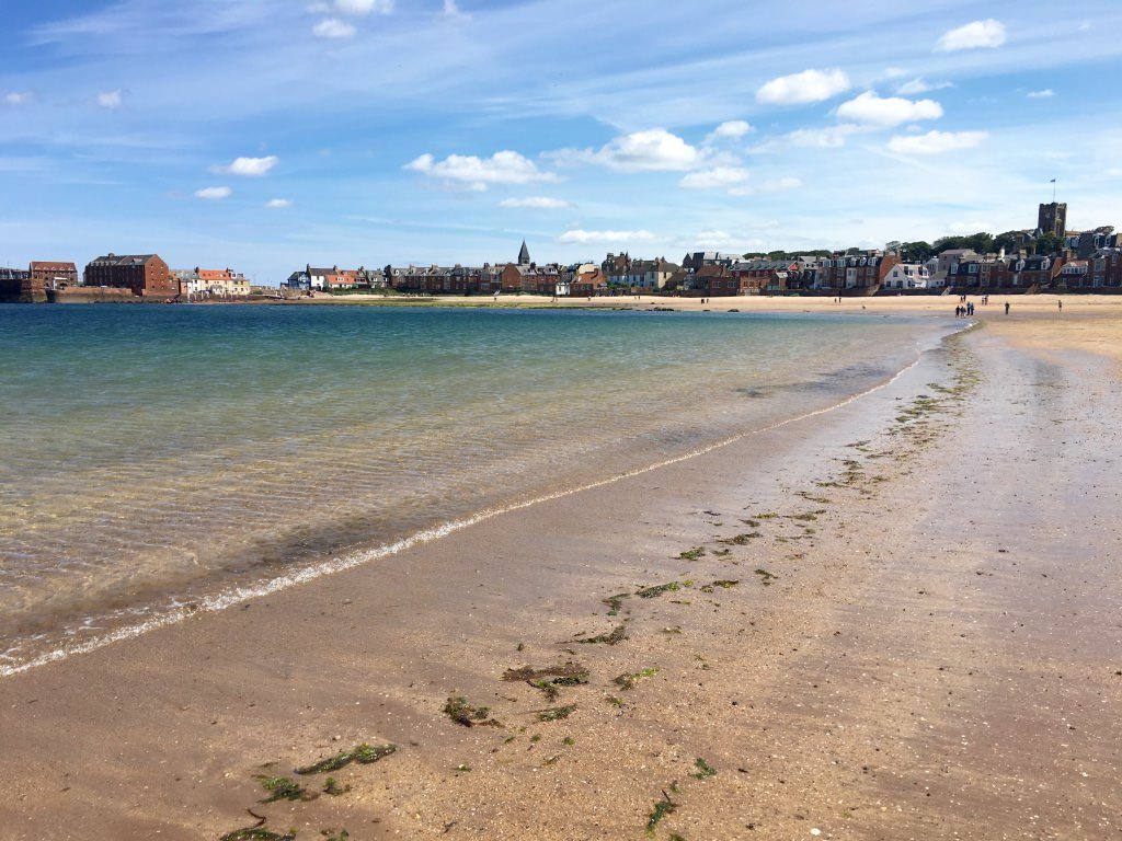 North Berwick Beach near Edinburgh