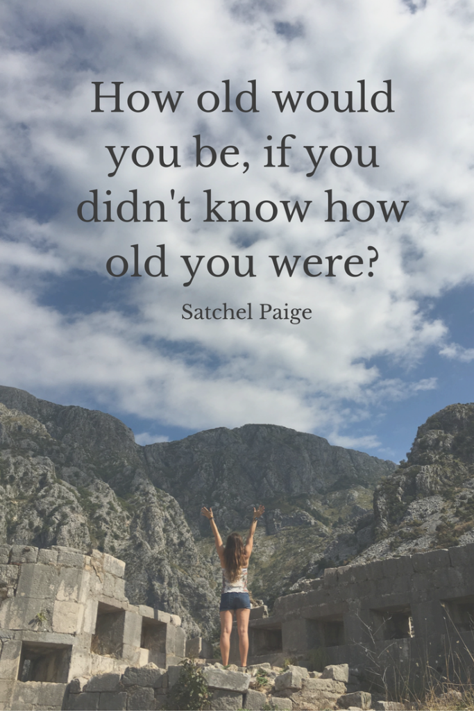 How old would you be if you didn't know how old you were?