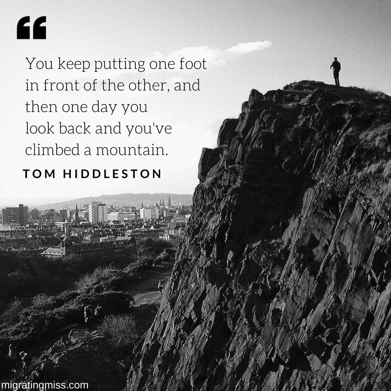 Tom Hiddleston Quote Migrating Miss