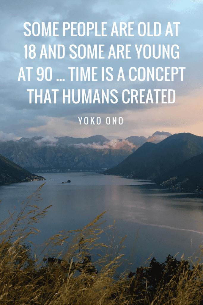 Yoko Ono age quote