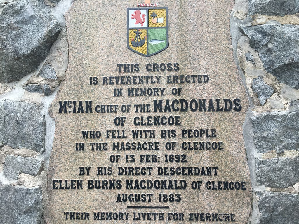 Glen Coe Massacre Scotland