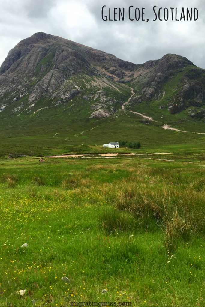 Glen Coe in Summer Scotland Road Trip