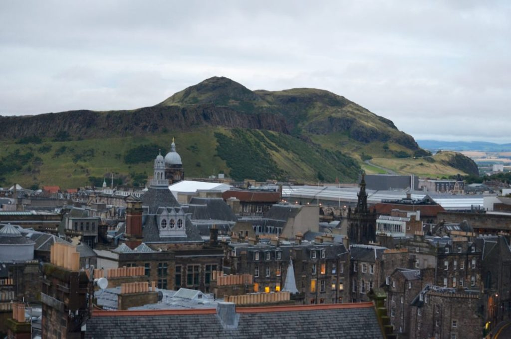 Moving to Edinburgh, Scotland