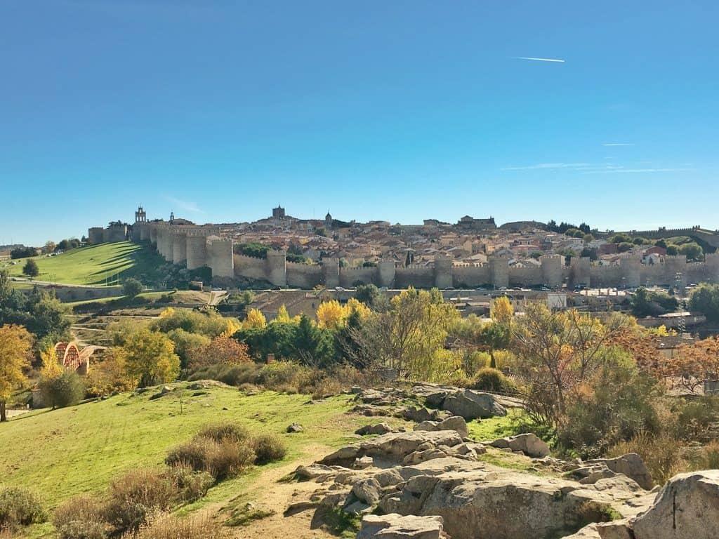 Avila day trip from Madrid Spain