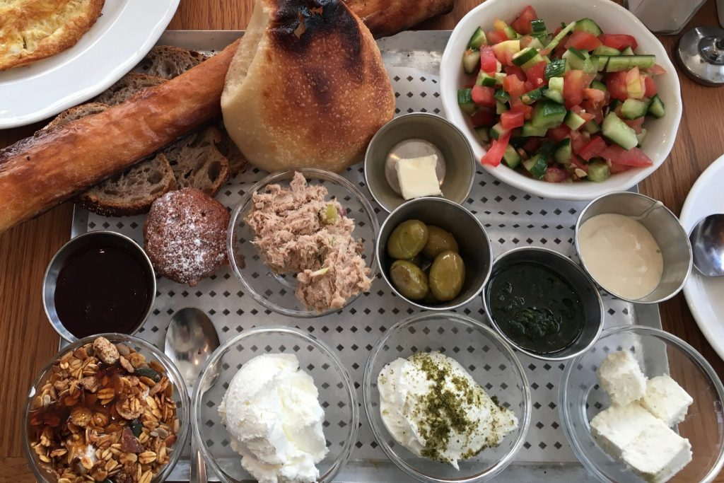 Brunch Around the World Israel
