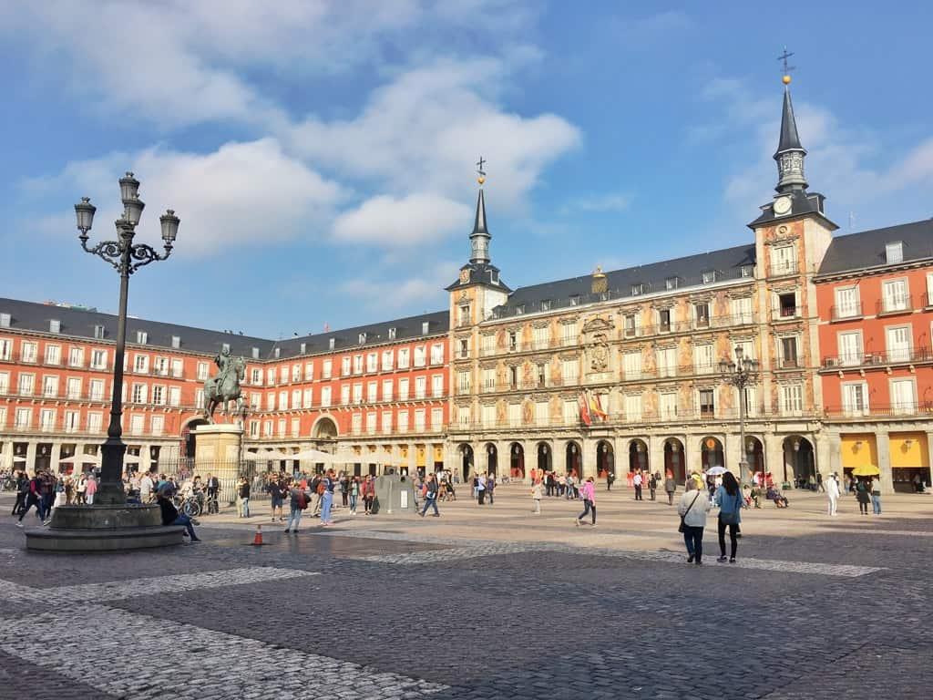 Gran Plaza in Madrid