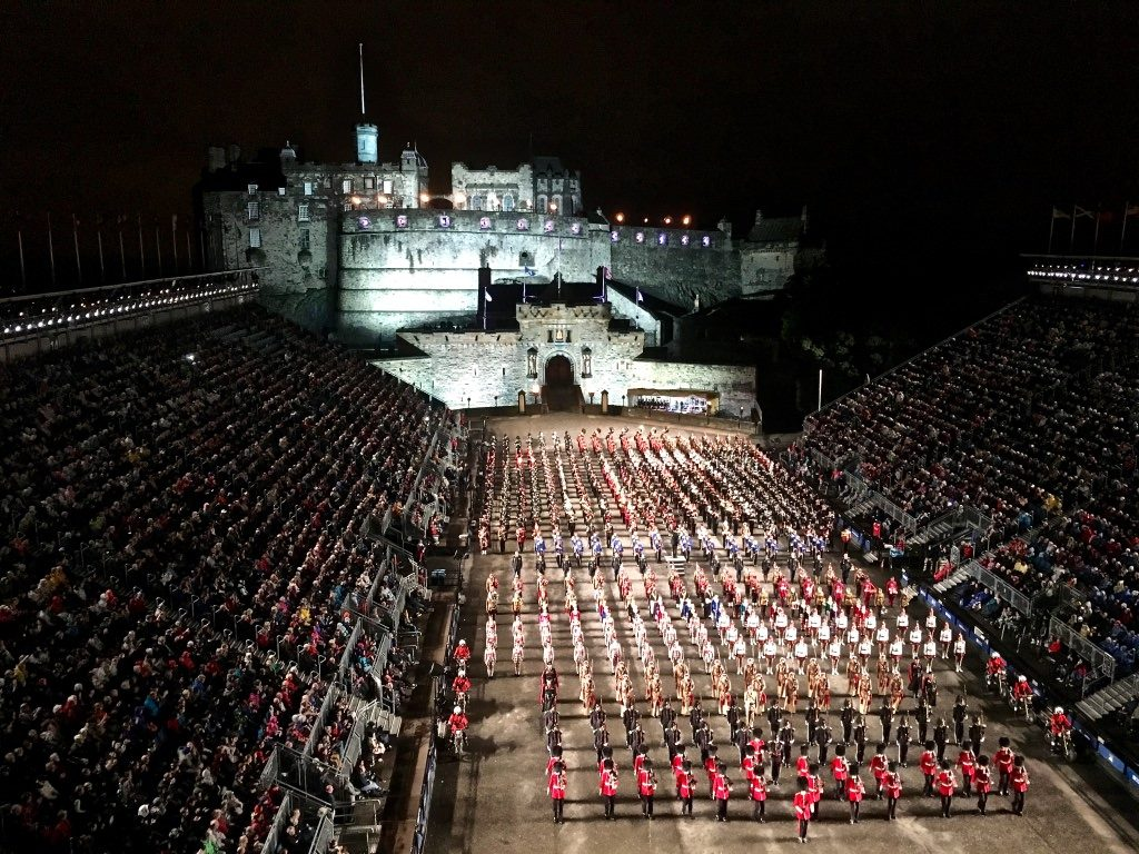 Royal Military Edinburgh Tattoo Scotland 2017