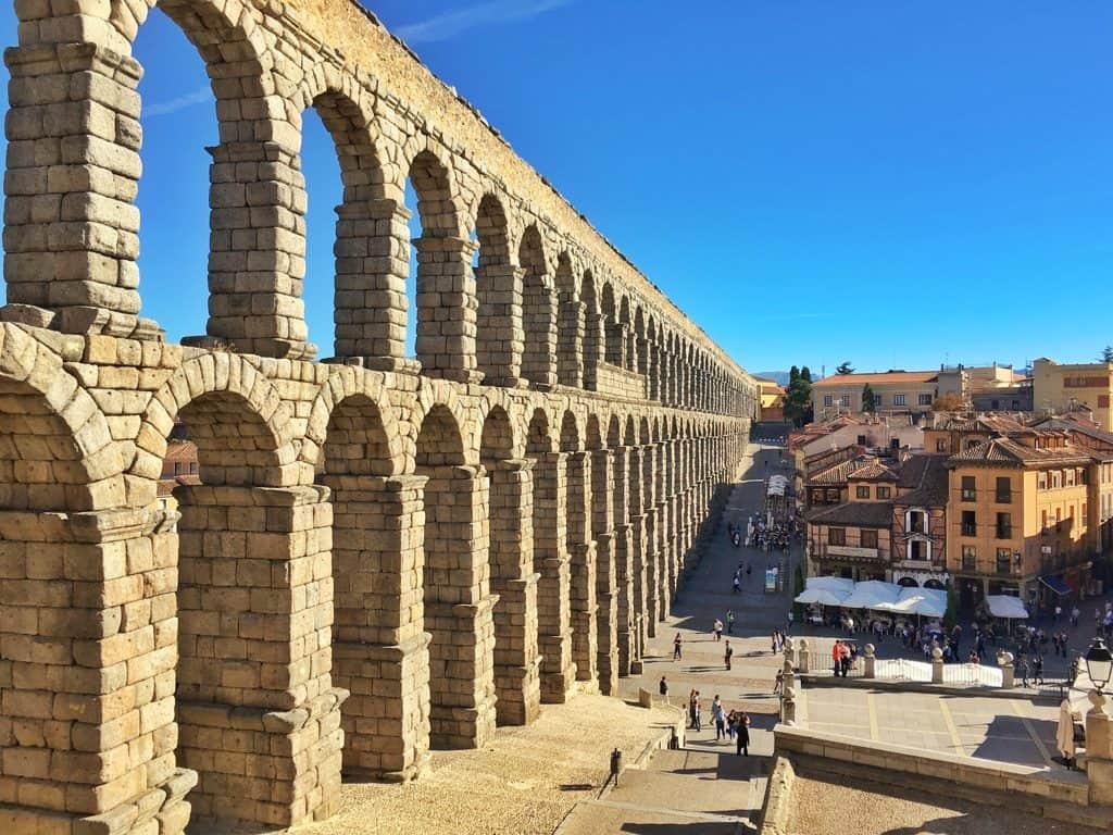 Segovia day trip from Madrid Spain