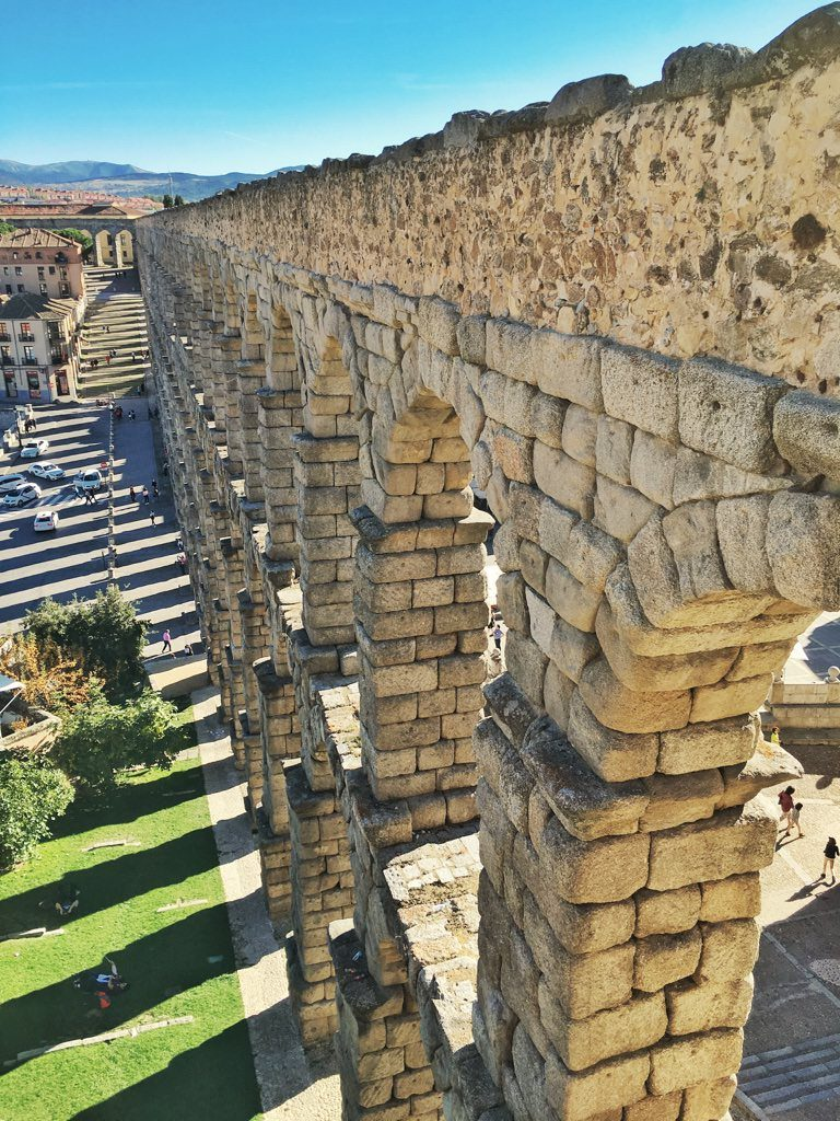 Day Trip From Madrid Spain Segovia