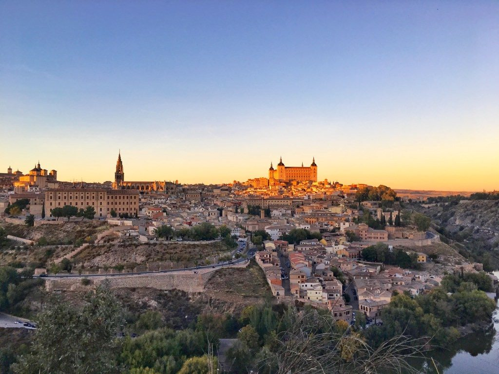 Sunset Toledo Spain day trip from Madrid