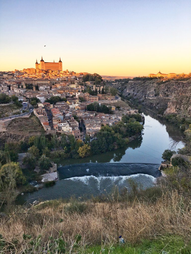 Day Trips From Madrid Spain Toledo Sunset