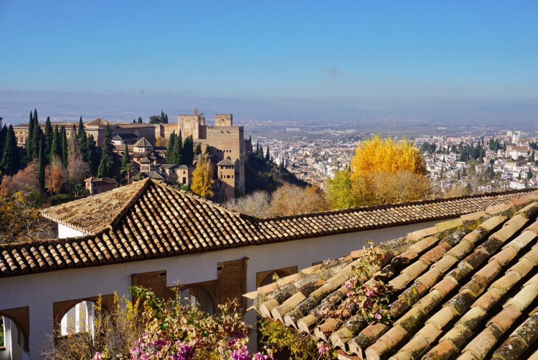 Visit Alhambra Spain in winter