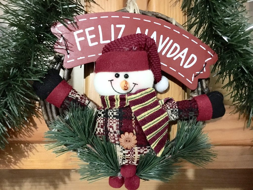 Spain at Christmas - Feliz Navidad Christmas Ornament