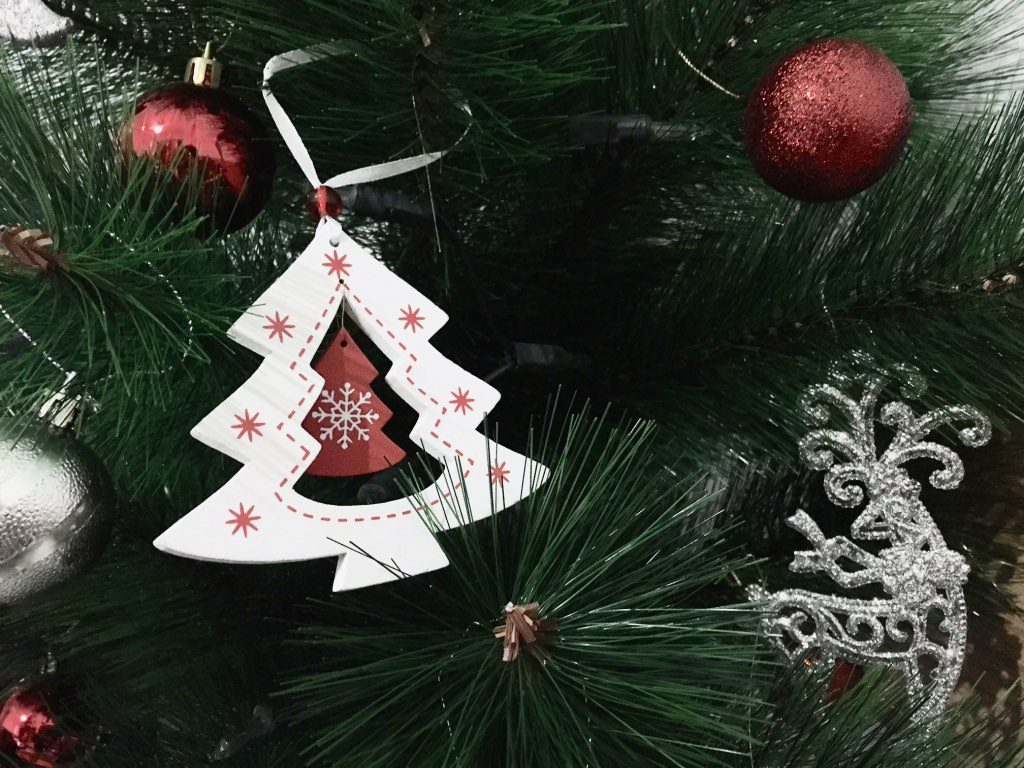 Scottish Christmas Traditions - Christmas tree with tree ornament
