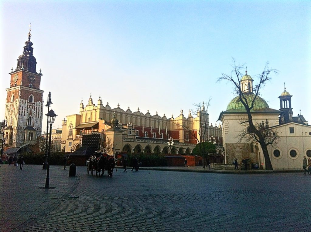 Krakow in Winter Europe Travel
