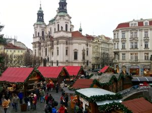 Prague in Winter Europe Travel