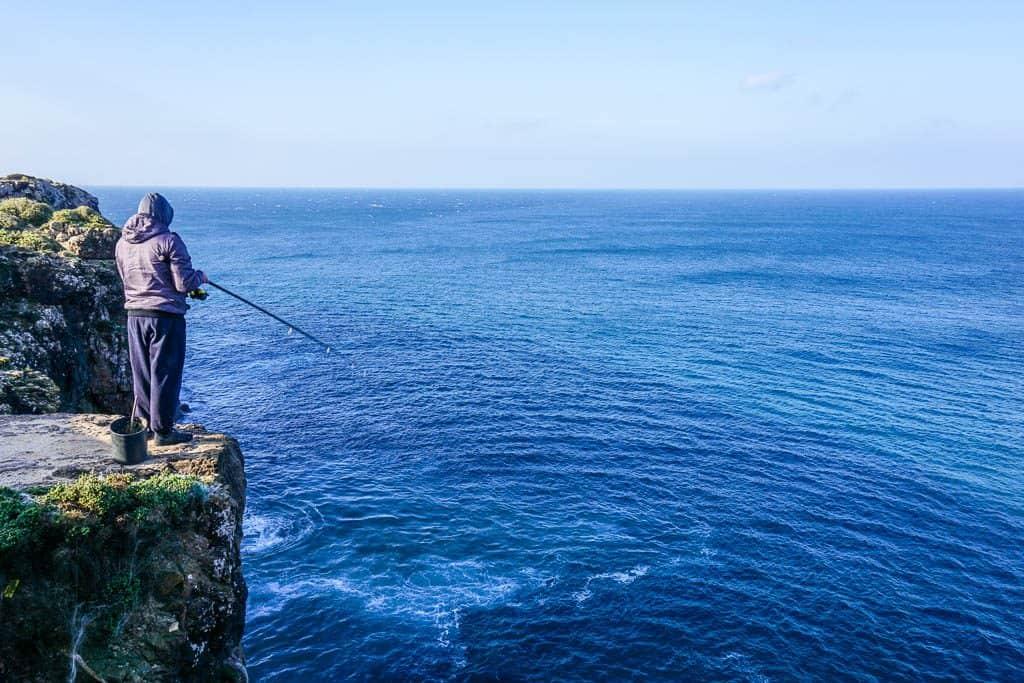 Sagres Fisherman Algarve Portugal