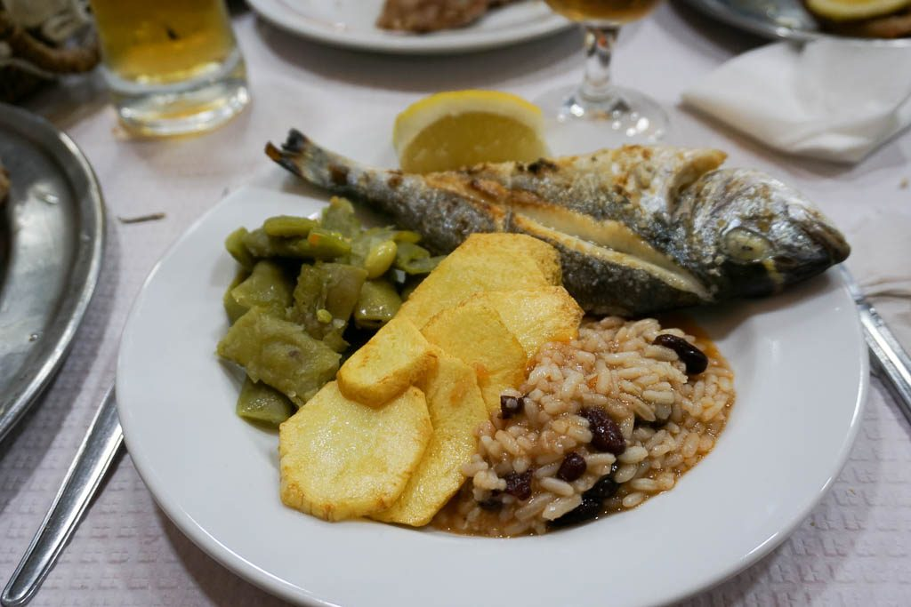 Portuguese Food in Winter