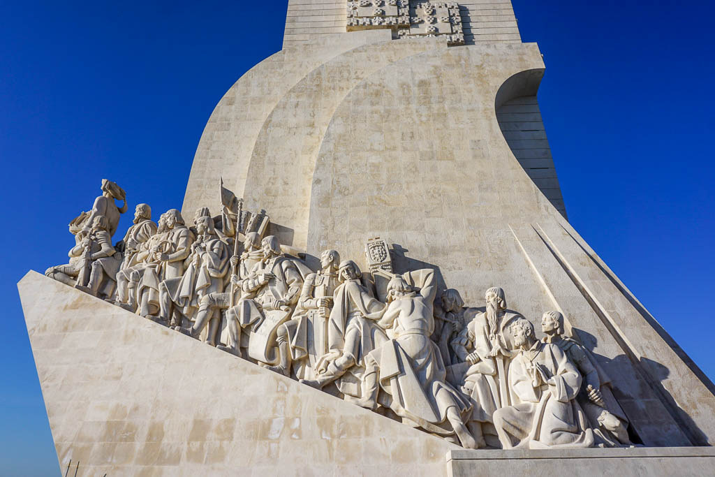 Lisbon Itinerary - 2 Days in Lisbon - Monument in shape of boat with sailor statues
