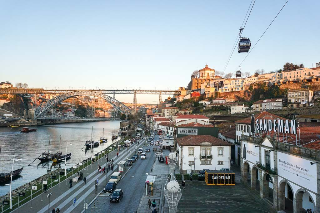 Port Houses in Porto, Portugal