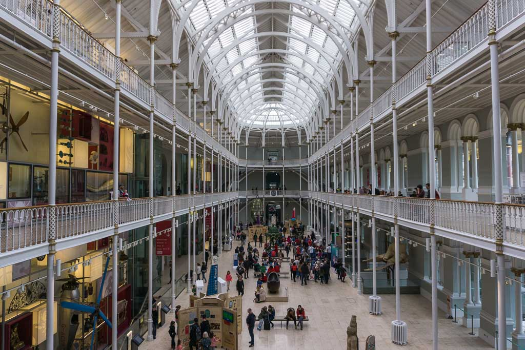 Open gallery at National Museum of Scotland