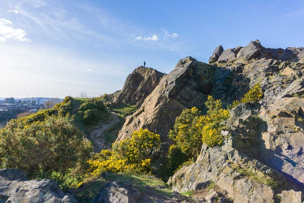 Salisbury Crags Edinburgh - Things to Do with Kids in Edinburgh