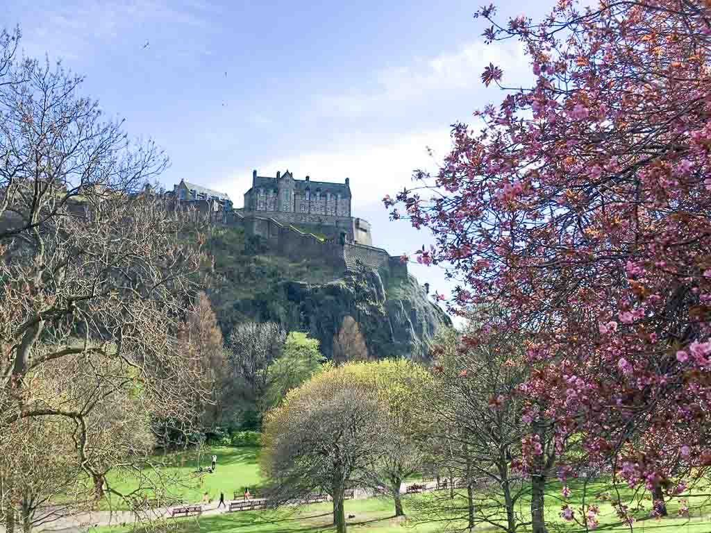 Visit Edinburgh in Spring Scotland