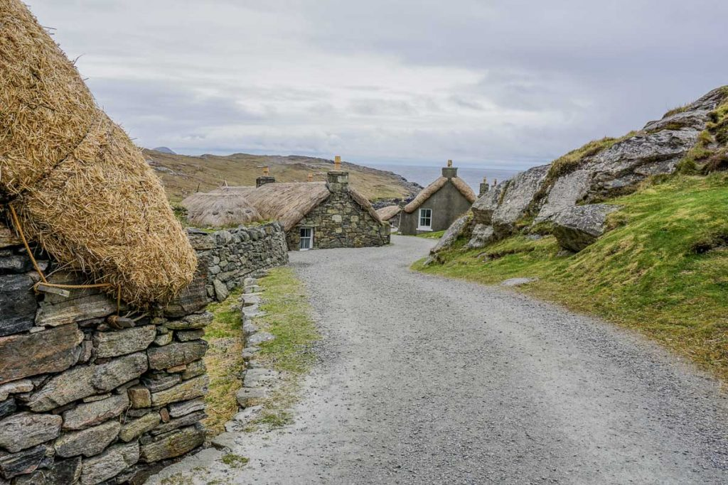Blackhouse Village - Historical Sites Isle of Lewis Scotland