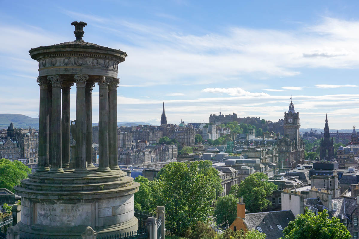 Films Set in Scotland - Calton Hill