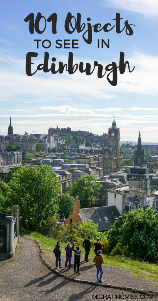 Edinburgh101 - Discovering Edinburgh through Objects