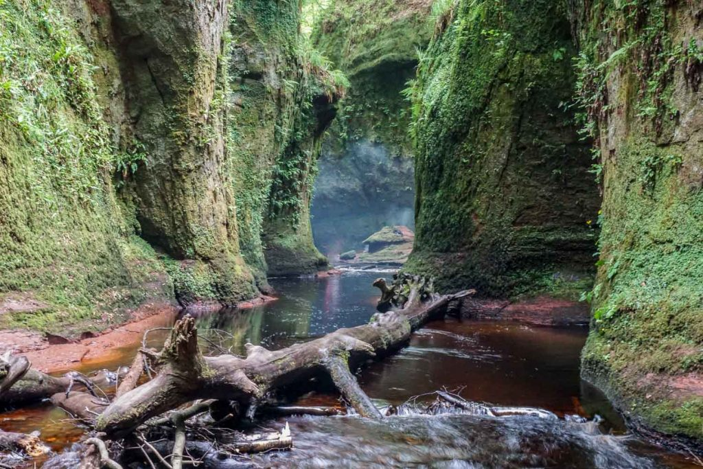 Finding Finnich Glen + The Devil's Pulpit, Scotland's Hidden Gem