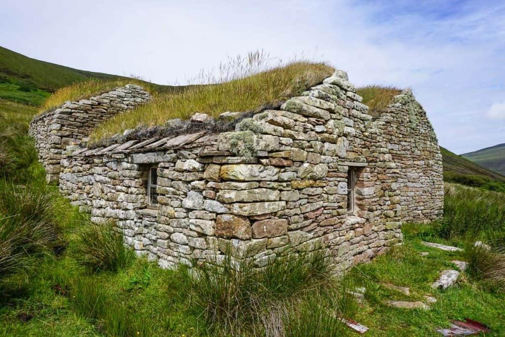 Old Man of Hoy Walk, Visiting Hoy, Orkney Islands, Scotland