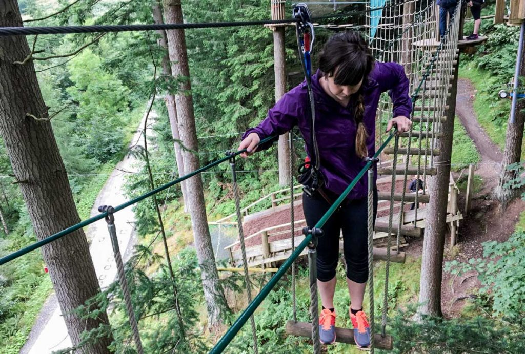 Go Ape Peebles Scotland