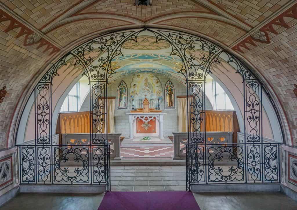 Italian Chapel, Orkney - Italian Prisoners of War