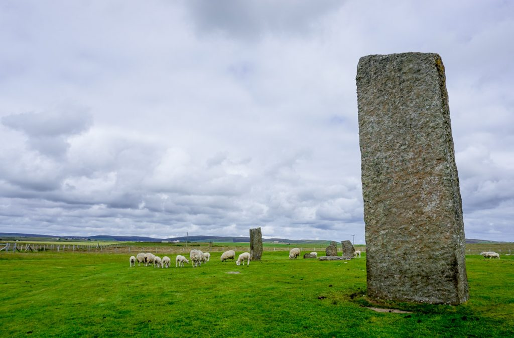 Historical Sites Orkney Islands Scotland