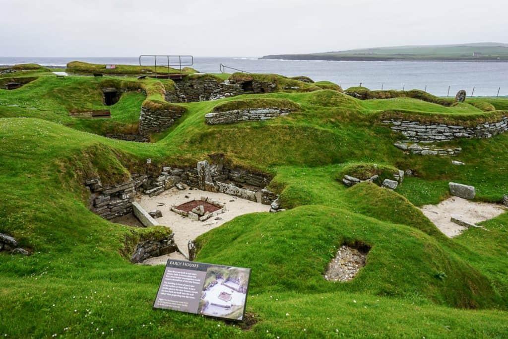 Best attractions in Orkney - Skara Brae