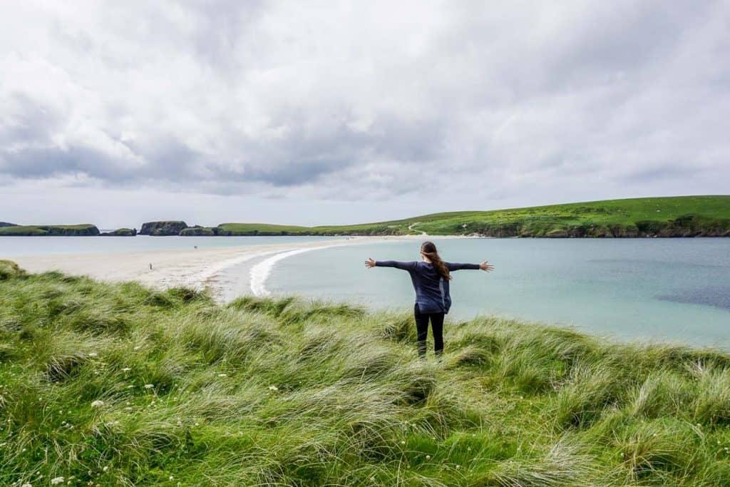 St Ninians Isle - Reasons to Visit Shetland, Scotland