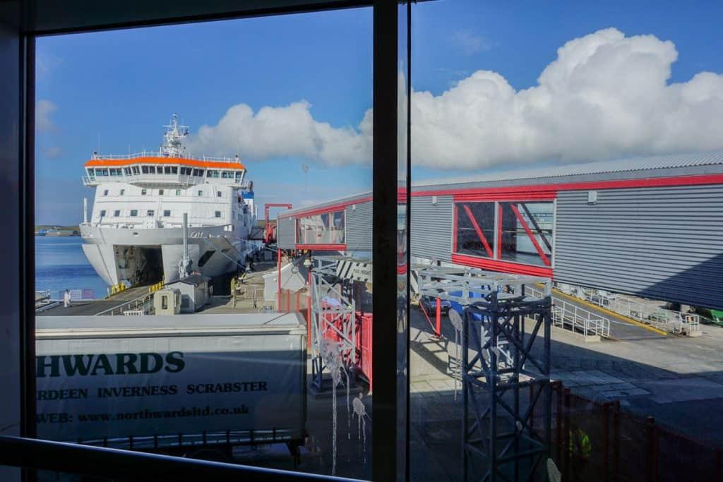 How to get to Shetland - Ferry to Shetland