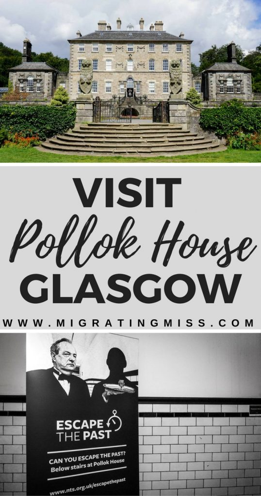 "Visit Pollock House and the 'Escape the Past"" escape room - Glasgow, Scotland"