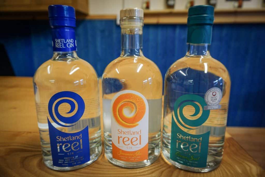 Shetland Reel Gin Unst Scotland