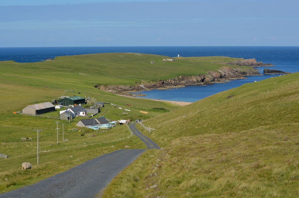 Getting around Shetland, Scotland
