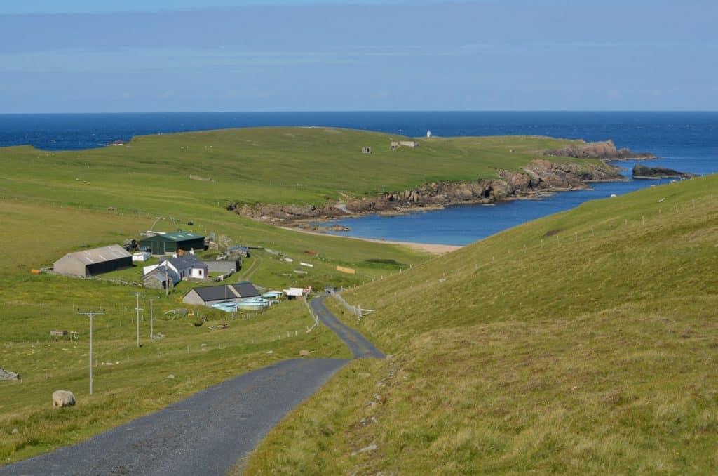 Getting around Shetland, Scotland