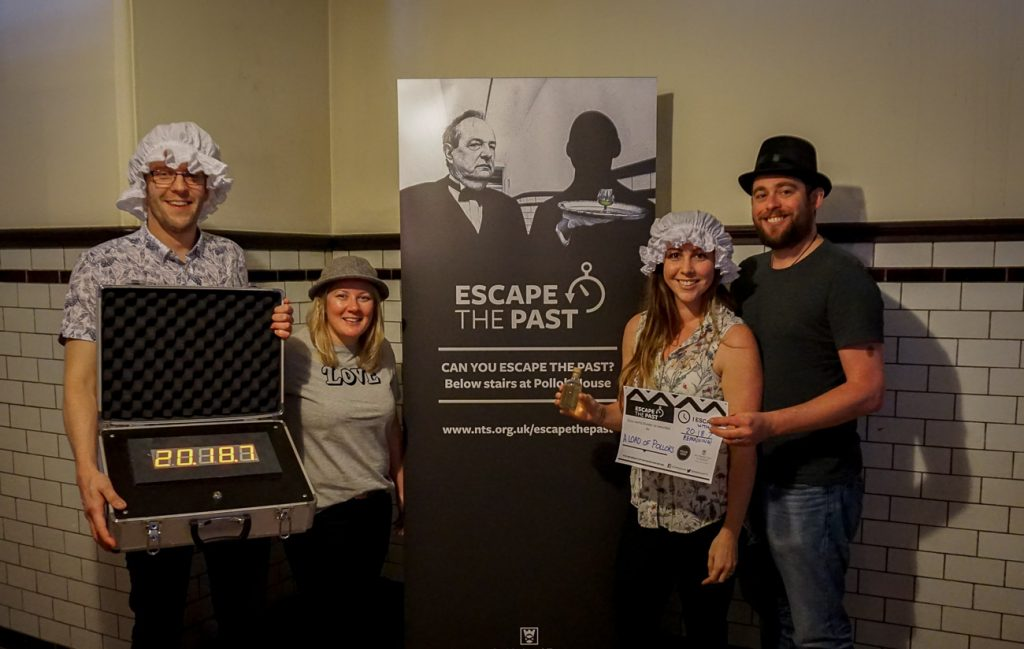 Escape the Past - Escape Room at Pollok House