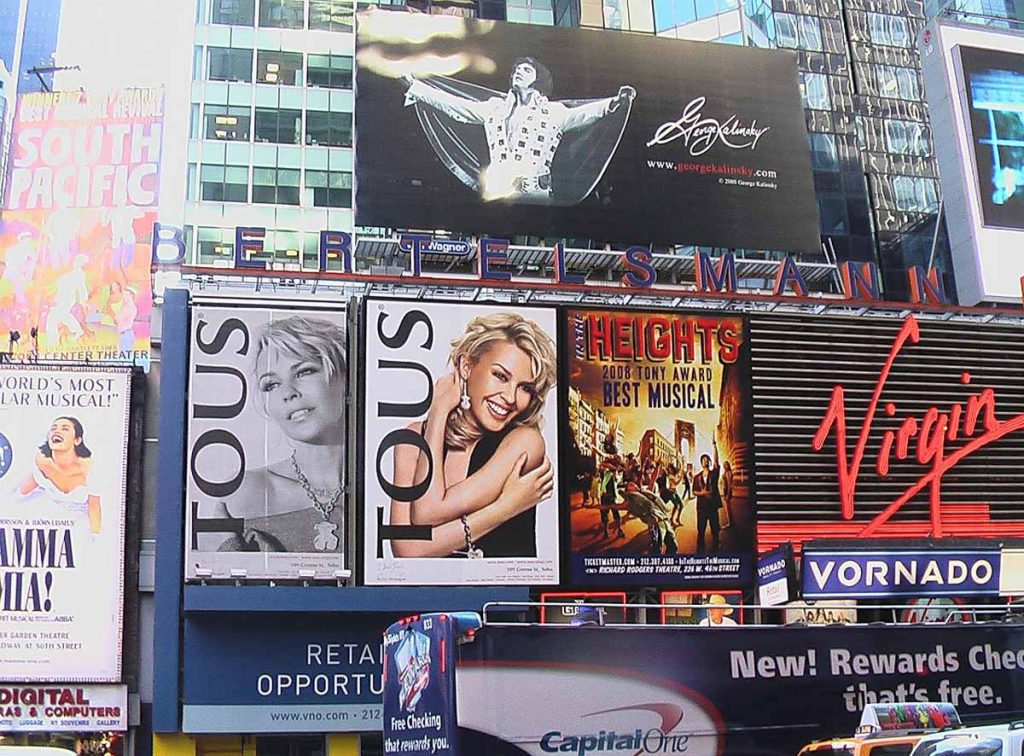 Broadway - Four Days in New York