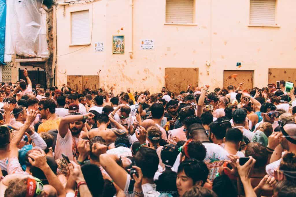 La Tomatina - Spanish Festivals
